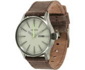 Nixon The Sentry Leather Gunmetal/Brown