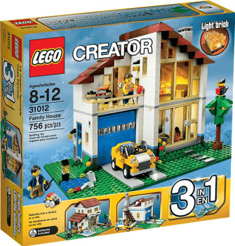 Lego Creator - 3 in 1 Family House (31012)