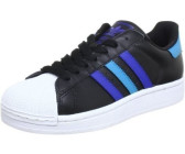 Adidas Superstar 2 black/true blue/turquoise