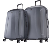 Travelite Elbe One 2.0 4 Wheel Trolley Set 2-Piece 71/81cm