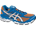 Asics Gel-Cumulus 15 neon orange/white/royal
