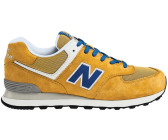 New Balance 574 yellow/blue