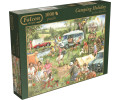 Jumbo Falcon Camping Holiday (1000 Pieces)