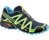 Salomon Speedcross 3 lake/fluo green/fluo blue