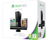 Microsoft Xbox 360 S 4GB + Kinect Adventures + Kinect Sports Season 2