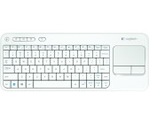 Logitech K400 Wireless Touch Tastatur DE (weiß)