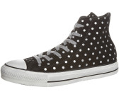 Converse Chuck Taylor All Star Suede Hi dots jet black