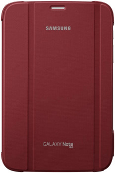 Samsung Diary Bag Book-Design for Samsung Note 8.0 garnet red