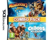 Madagascar 3: Europe's Most Wanted + The Croods: Prehistoric Party - Combo Pack (DS)