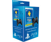 Sony DualShock 3 black + PlayStation Plus
