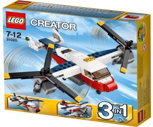 lego creator 3 in 1 flugzeug abenteuer 31020 ab 29 70. Black Bedroom Furniture Sets. Home Design Ideas