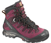 Salomon Quest 4D GTX W bordeaux/black/orange feeling