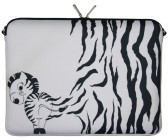 "Digittrade Notebook Sleeve 17,3"" Zebra"