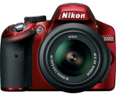 Nikon D3200 Kit 18-55mm Nikon G VR II Red