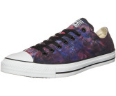 Converse Chuck Taylor All Star Tie Dye Ox - red/radio blue/black (142218C)