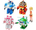 Ouaps Robocar Pack de 5 figurines transformables