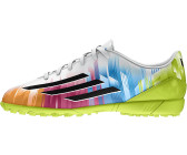 Adidas F5 TRX TF J Messi running white/black/solar slime