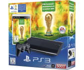 Sony PlayStation 3 (PS3) Super slim 12GB + FIFA Fussball Weltmeisterschaft Brasilien 2014