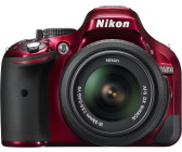 Nikon D5200 Kit 18-55 mm [Nikon VR] (rot)