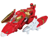 Bandai Power Rangers - Sky Brothers Zord Vehicle and Red Ranger (35081)