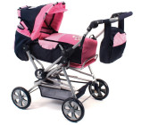 Bayer-Chic Road Star Pram pink checker