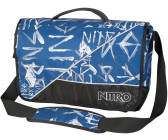 "Nitro Evidence Messenger Bag XL (17"") smear midnight"