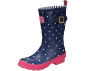 Joules Molly Welly navy spot