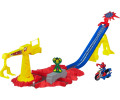 Playskool Spiderman Crane Capture Track Set