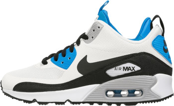 Nike Air Max 90 Mid Sneaker Boot NS White Black