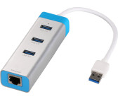 I-Tec 3-Port USB 3.0 Hub with Gigabit Ethernet