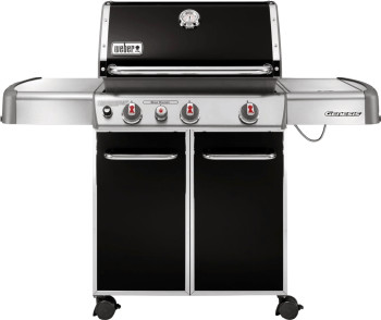 weber genesis e 330 black kleinster mobiler gasgrill. Black Bedroom Furniture Sets. Home Design Ideas
