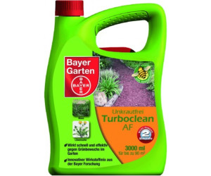 bayer garten unkrautfrei turboclean af 3 liter ab 18 98. Black Bedroom Furniture Sets. Home Design Ideas