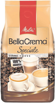 Melitta BellaCrema Cafe Speciale Bohnen (1 kg)