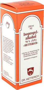 Madaus Isopropyl-Alkohol 70% Hetterich Desinfektion (200 ml)