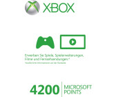 Microsoft Xbox 360 4200 Live Points Card