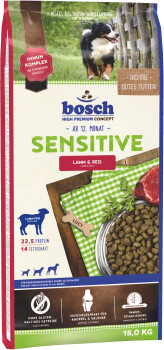 bosch Sensitive Lamm & Reis (15 kg)