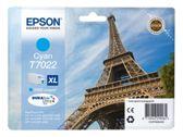 Epson Workforce Pro WP 4535 DWF (T7022 / C 13 T 70224010) - original - Tintenpatrone cyan - 2.000 Seiten - 21,3ml