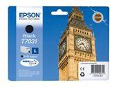Epson Workforce Pro WP 4535 DWF (T7031 / C 13 T 70314010) - original - Tintenpatrone schwarz - 1.200 Seiten - 1000ml