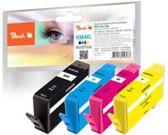 Peach Spar Pack Tintenpatronen mit Chip kompatibel zu HP No. 364XL