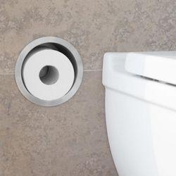 toilettenpapierhalter unterputz bei. Black Bedroom Furniture Sets. Home Design Ideas