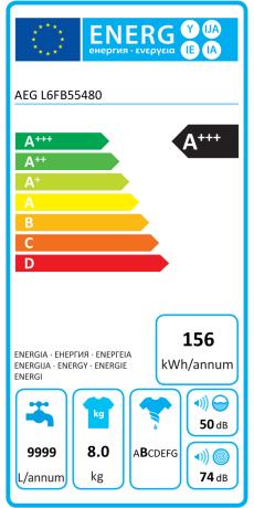 AEG L6FB55480 Ab 39999 EUR
