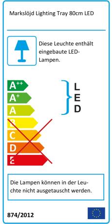 Markslöjd Lighting Tray 80cm LED ab € 201,68