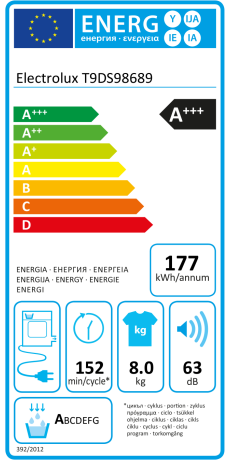Electrolux T9DS98689 ab 1.256,00 € | Preisvergleich bei