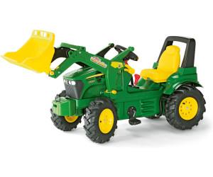 rolly toys farmtrac john deere 7930 avec pelle et pneus gonflables au meilleur prix sur. Black Bedroom Furniture Sets. Home Design Ideas
