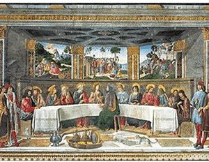 Clementoni Rosselli - La última cena (1000 piezas)