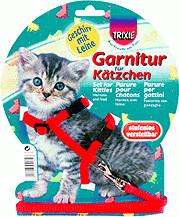 Trixie Kätzchen-Geschirr mit Leine (4182)