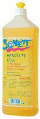 Sonett Handseife Citrus Nachfüllflasche (1 l)