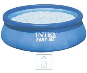 Intex easy pool 305 x 76 cm ab 26 99 preisvergleich for Pool 3m durchmesser aufblasbar