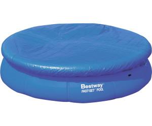 bestway fast pool abdeckplane 305 cm 58033 ab 4 79 preisvergleich bei. Black Bedroom Furniture Sets. Home Design Ideas