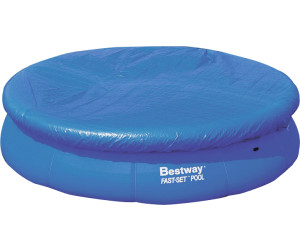 Poolabdeckung für Fast Set Pools 305 cm Bestway 58033 Pool Abdeckplane